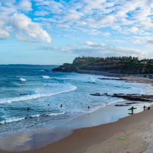 best surf destinations Newcastle, Australia