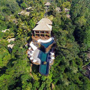 bali infinity pool hanging gardens of bali ubud