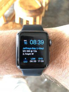Apple Watch surf watch dawn patrol app