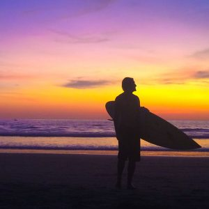 best surf destinations for digital nomads work and surf Montanita ecuador