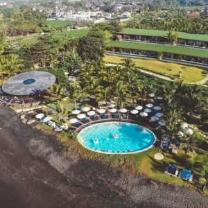 komune Hotel Komune resort keramas beach bali surf resort wsl surfing