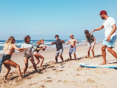 how to become a surf instructor course coach surfing jobs