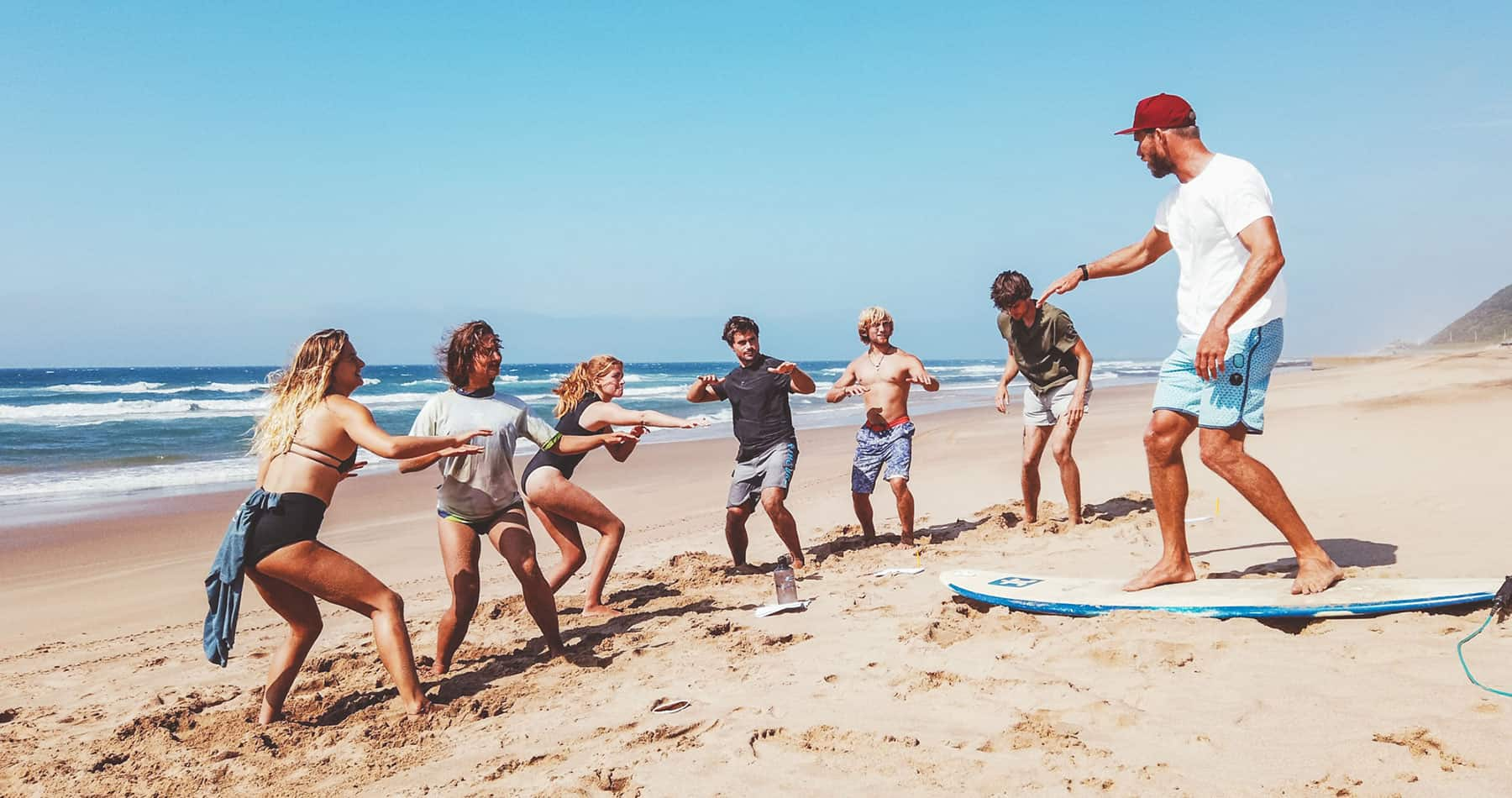 Live The Dream How To Become A Surf Instructor Stoked For Travel