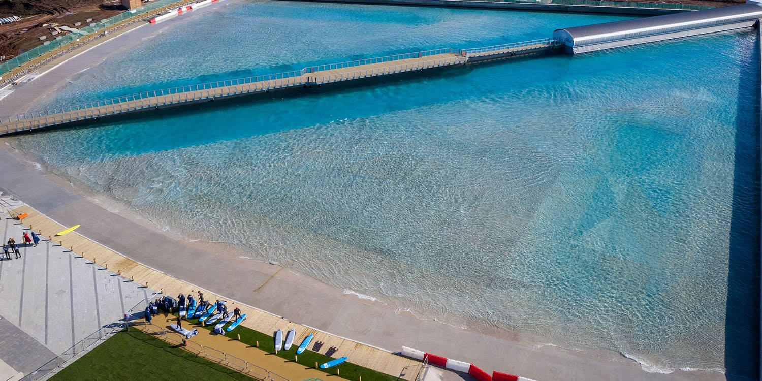 review the wave bristol wavepool surfing surf