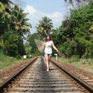 surfing in sri lanka solo female travel tips backpacking asia
