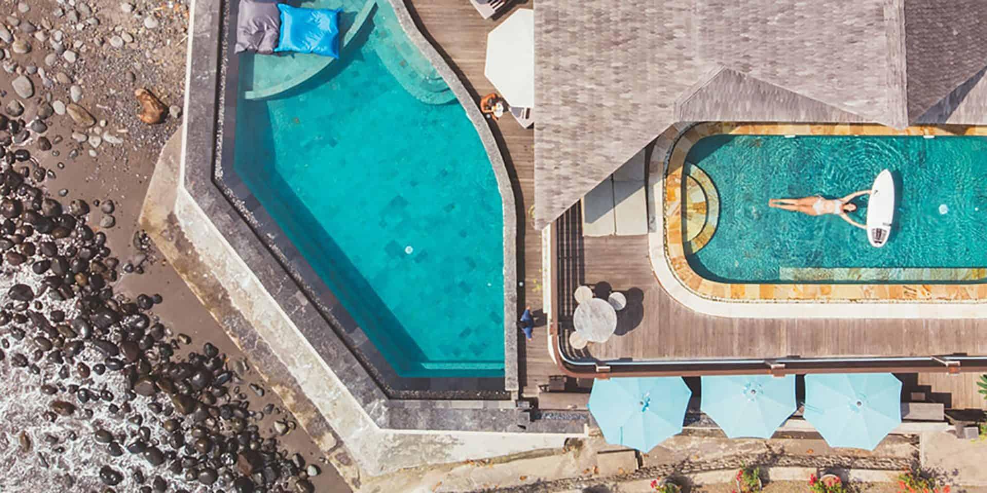 best bali surf hotels luxury canggu uluwatu keramas medewi balangan padang