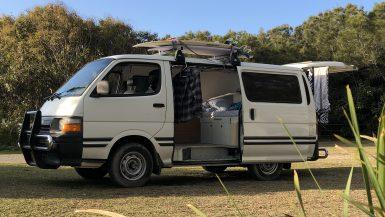 toyota hiace camper conversion diy vanlife campervan australia