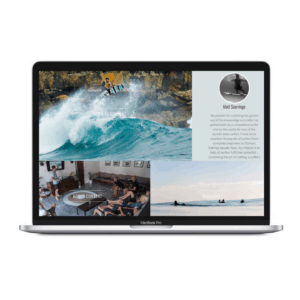 online surf coaching the art of surfing