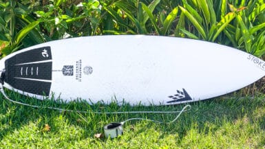 review firewire dominator 2 surfboard dan mann