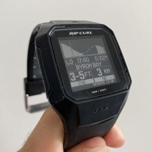 REVIEW Ripcurl Search GPS 2 Surf Watch surf data