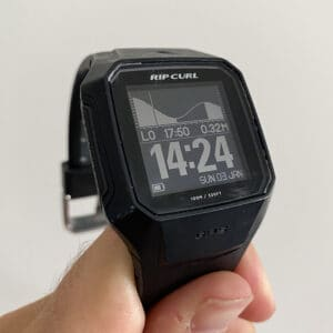 REVIEW Ripcurl Search GPS 2 Surf Watch tide report