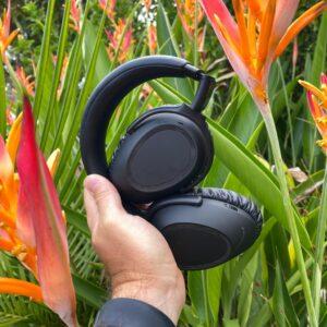 REVIEW Sennheiser PXC 550-II Travel Headphones noise cancelling 3
