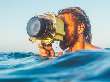 in water surf photography surf housing camera housing surf photographer