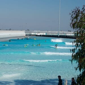 learn to surf at urbnsurf melbourne australia wave pool