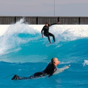 urbnsurf intermediate session urbnsurf melbourne australia wave pool