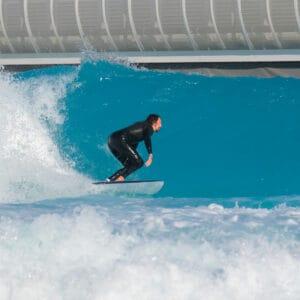 urbnsurf advanced turns session urbnsurf melbourne australia wave pool