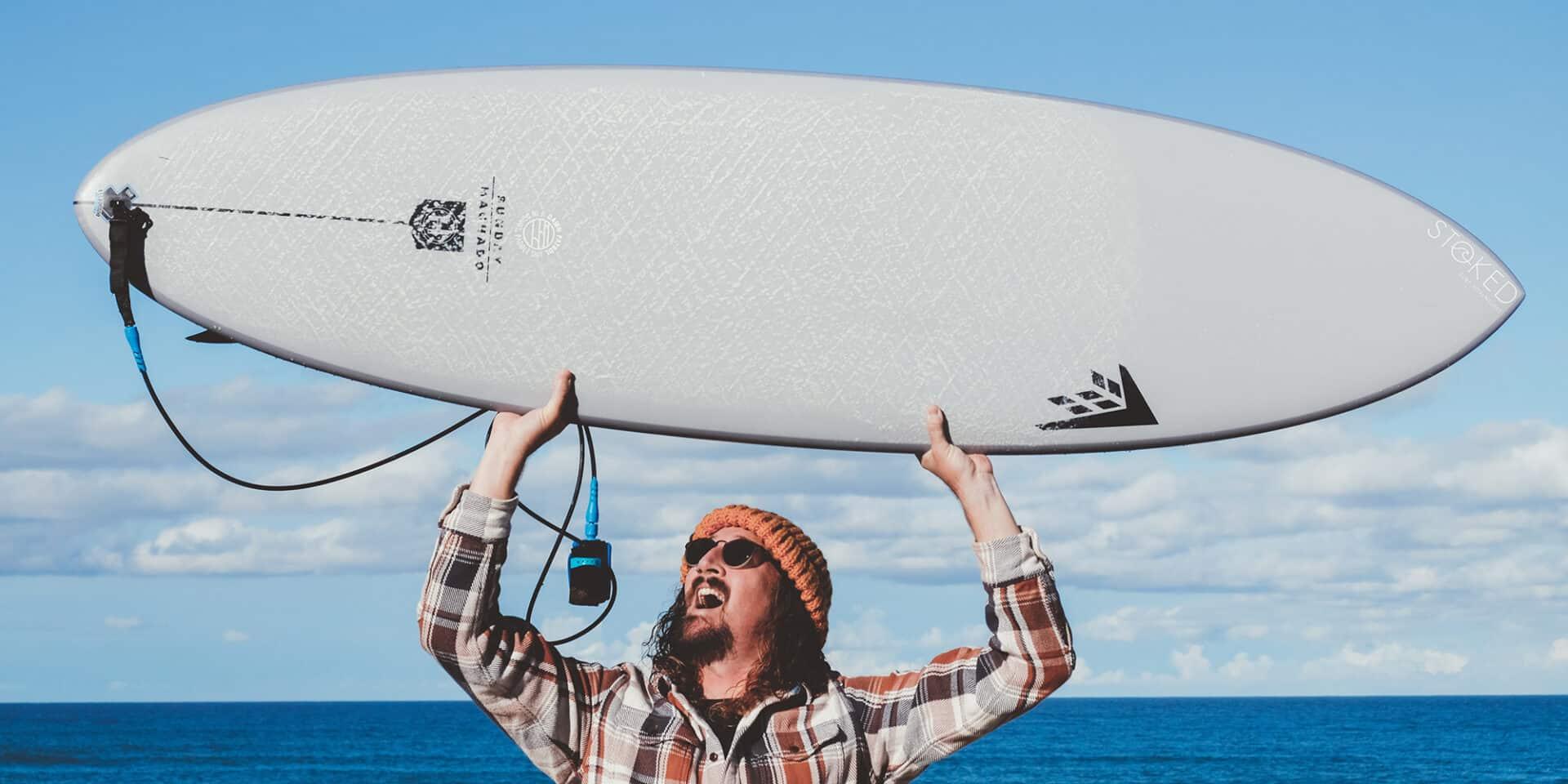 firewire sunday rob machado surfboard review twin fin surfing