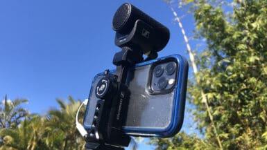 iPhone Vlog Kit Sennheiser MKE 200 Mobile Kit Review